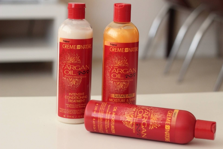 Creme of nature hair products