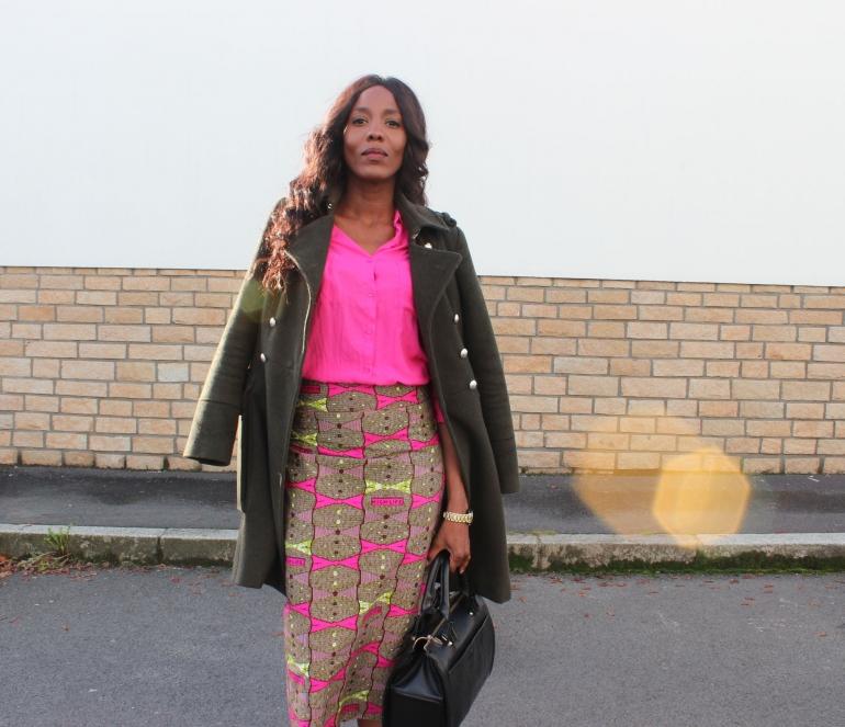 wear african print fall